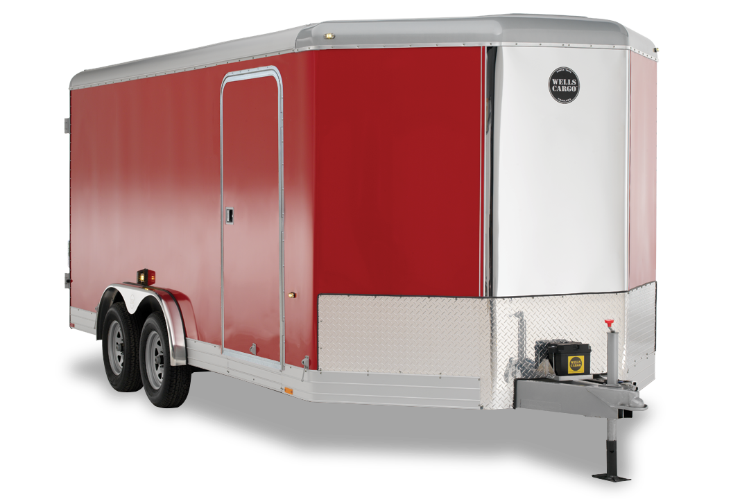 wells cargo trailers wagon v front series